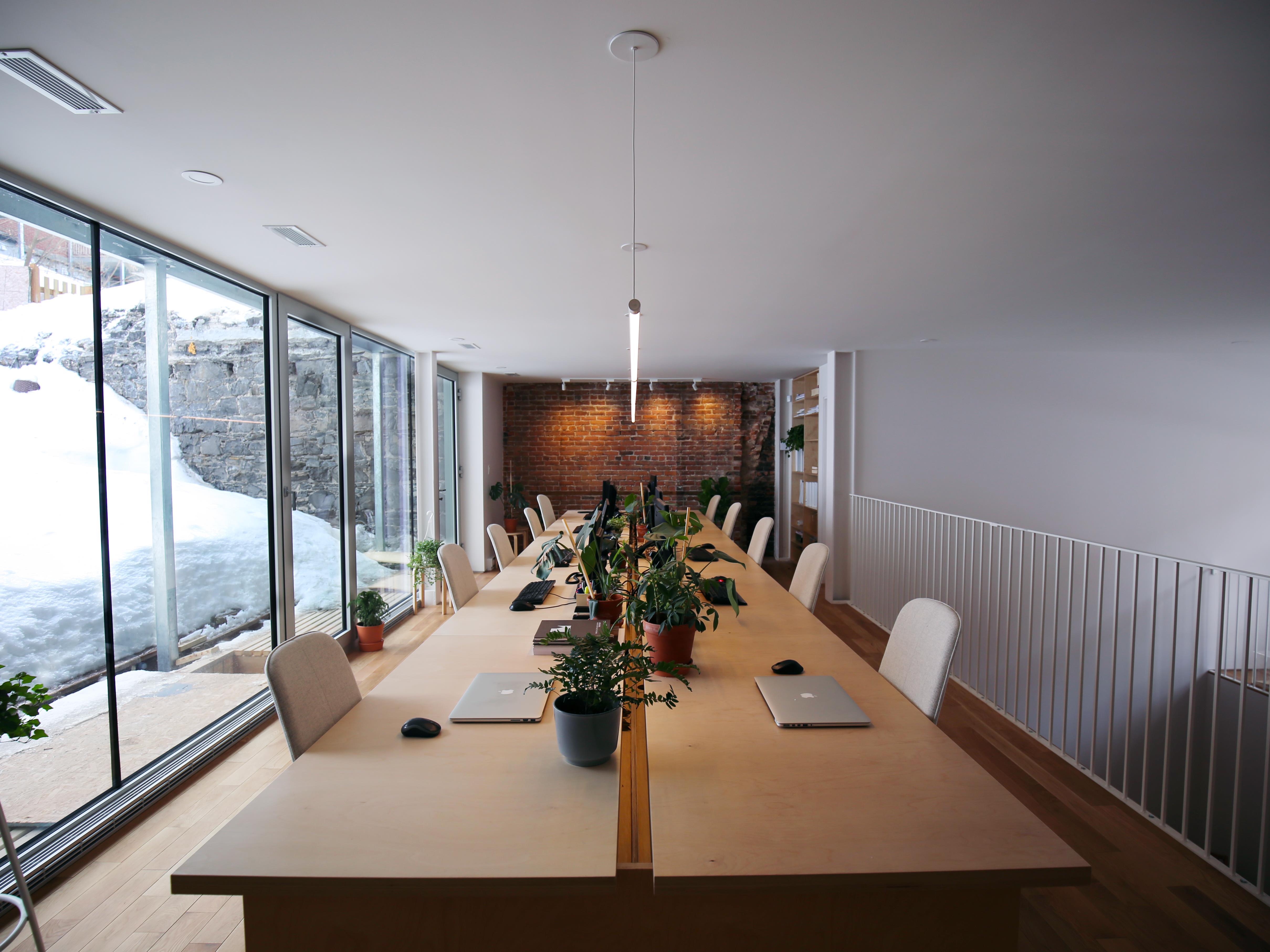 Les bureaux de l'Atelier Pierre Thibault