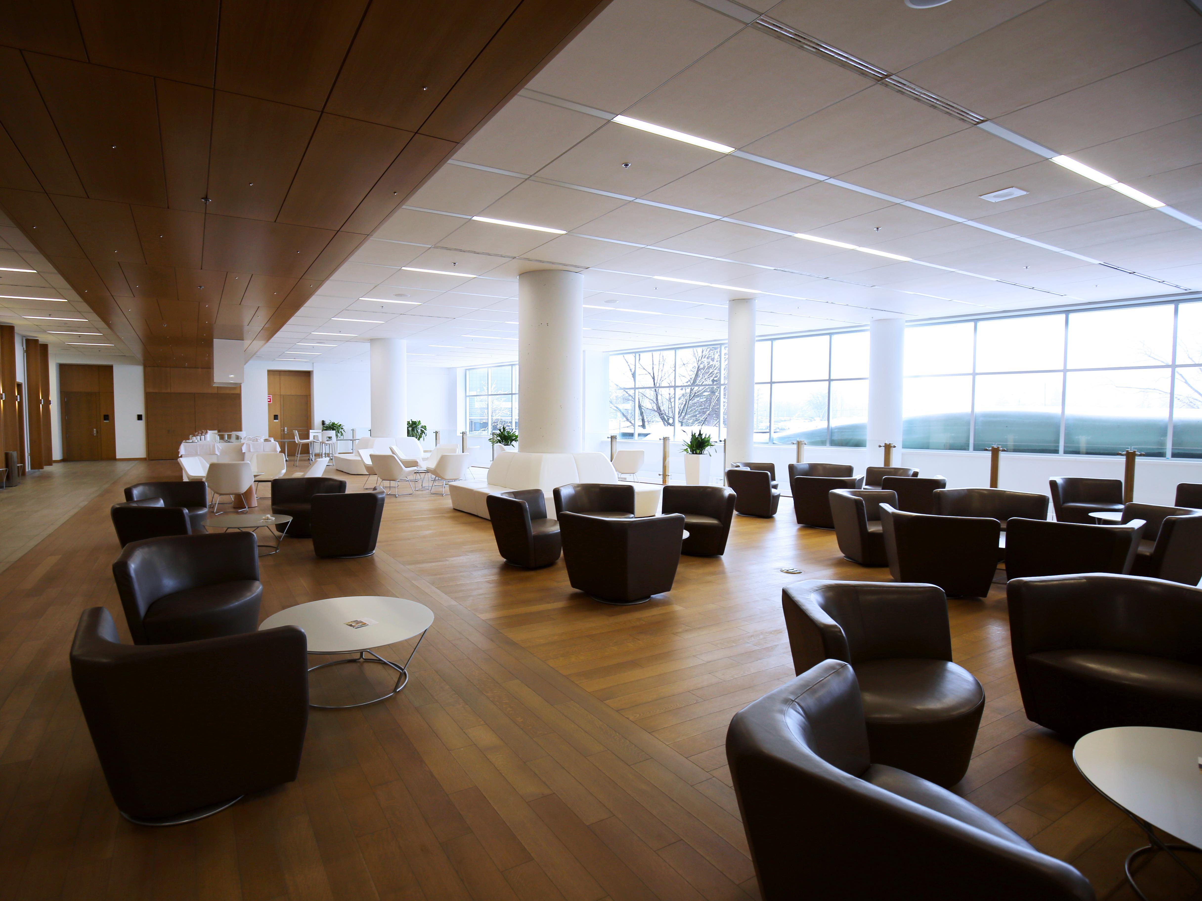 Une grande salle réservée pour les réceptions