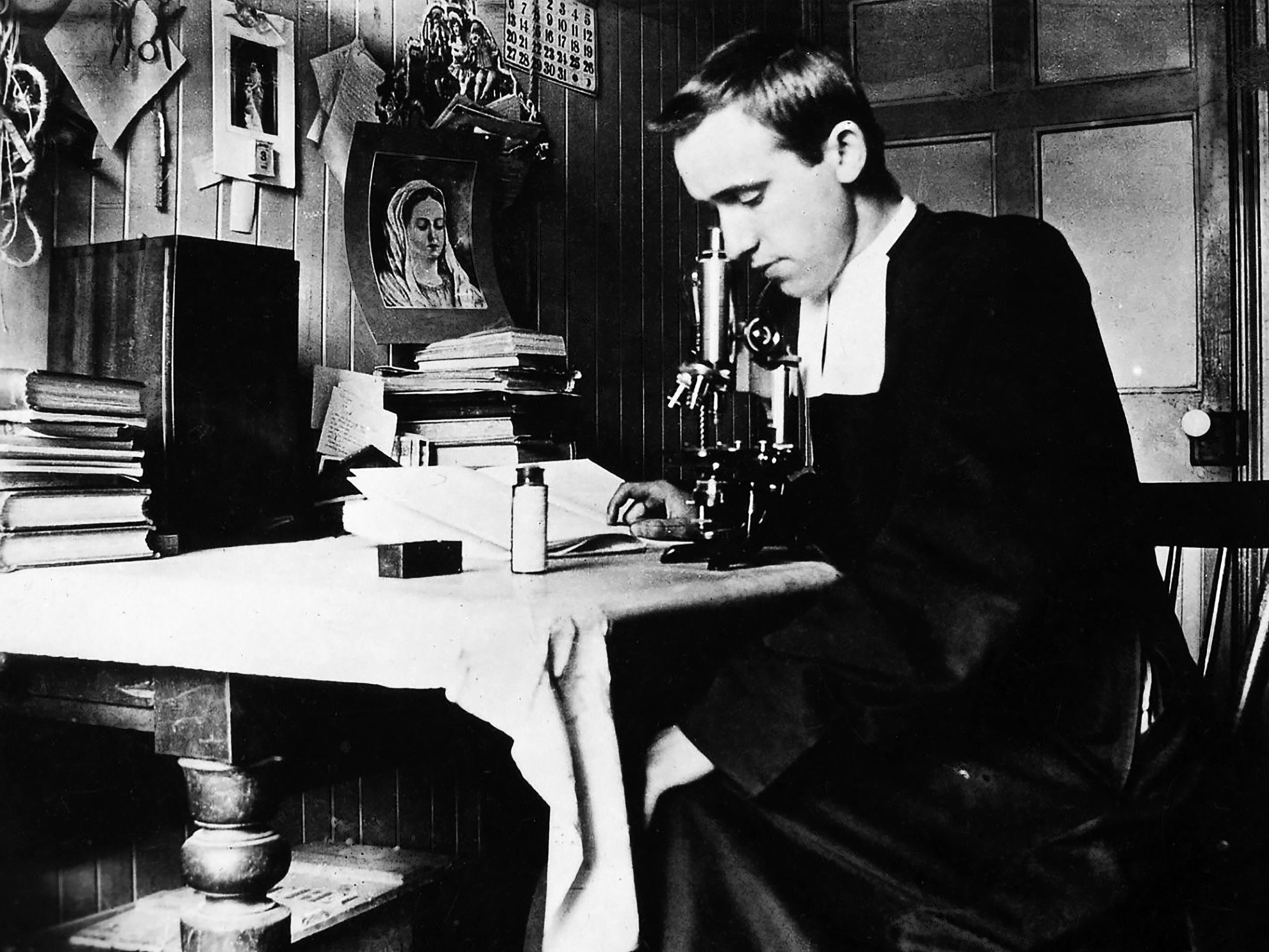 Le frère Marie-Victorin au Collège de Longueuil (1909)