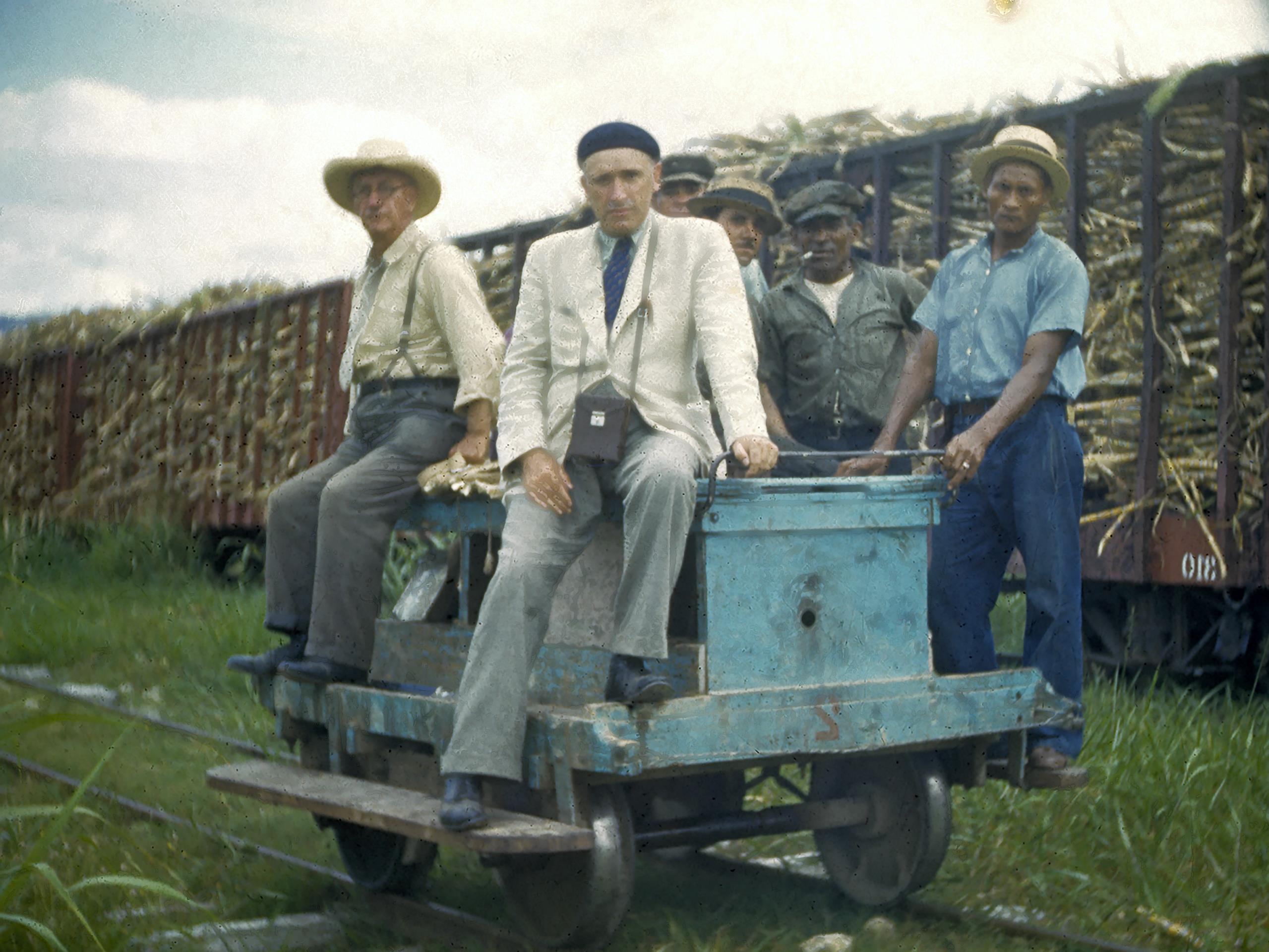 Le frère Marie-Victorin en voyage d'herborisation à Cuba