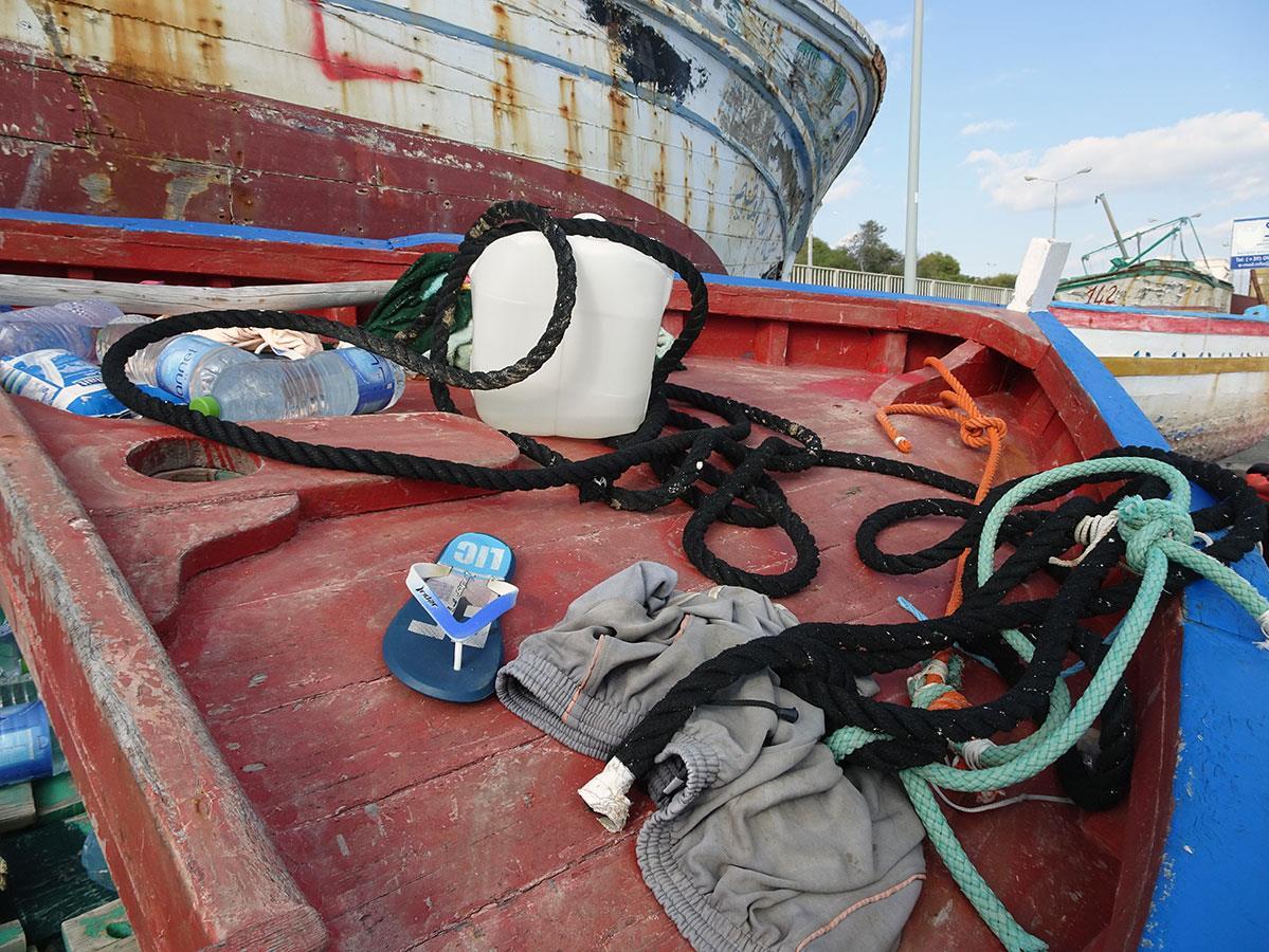 Parmi les victimes des naufrages en Méditerranée, beaucoup de femmes et de jeunes enfants.