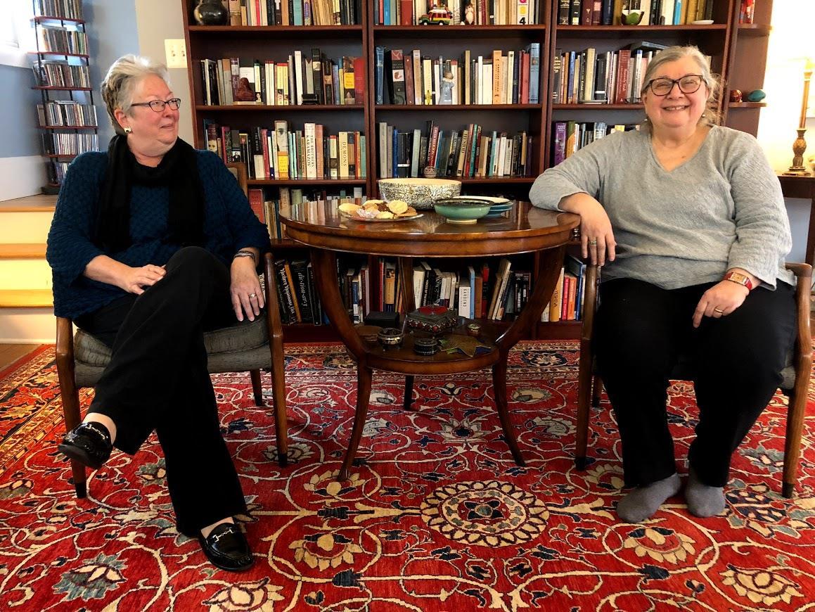 Susan Symington, à gauche, et Susana Isaacson