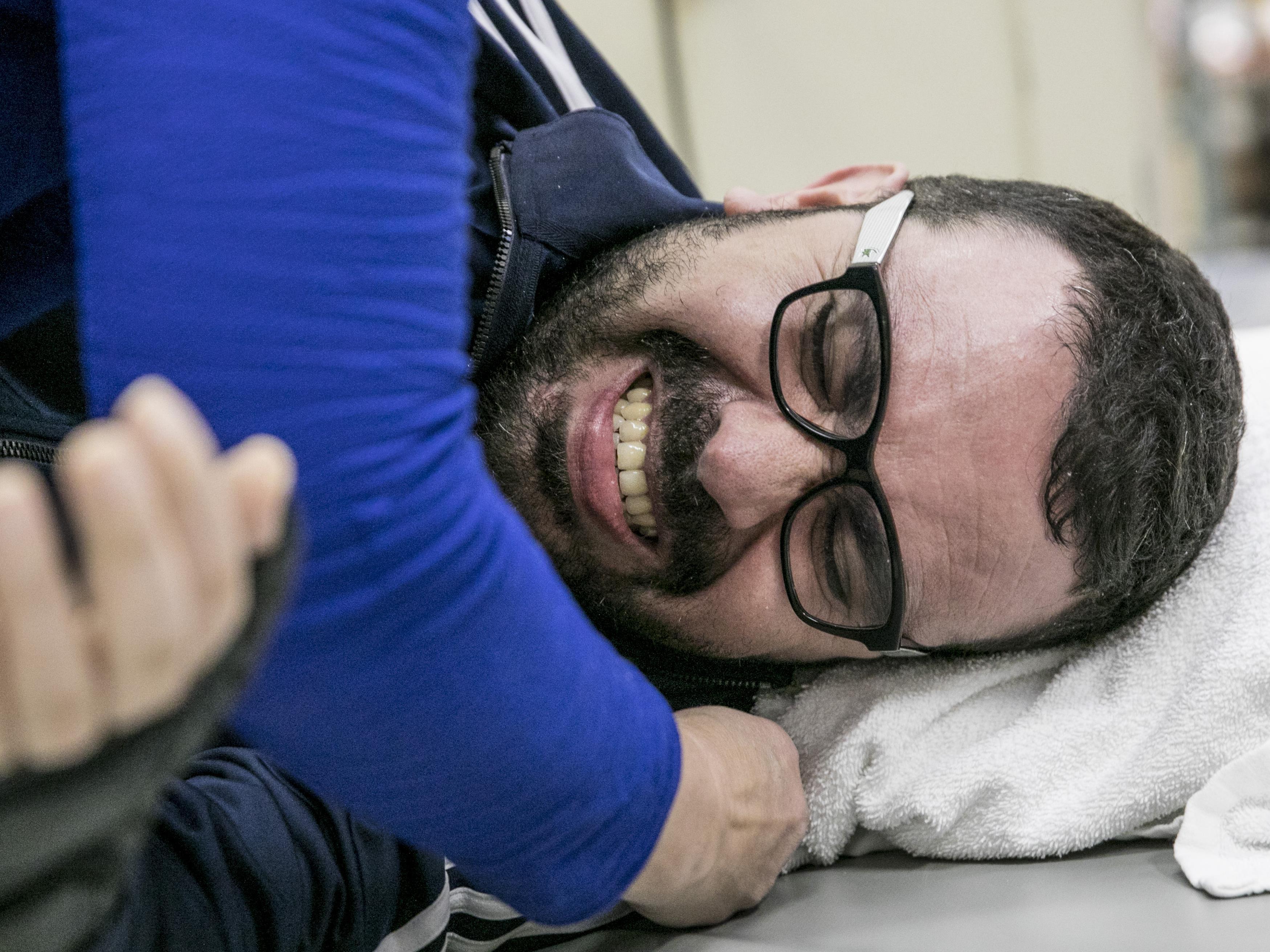 Aymen Derbali souffre d'intenses douleurs à la suite de ses blessures.