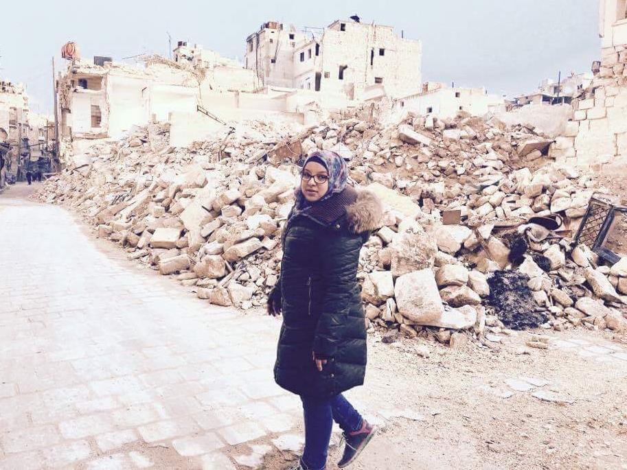 Zain à Alep, en Syrie