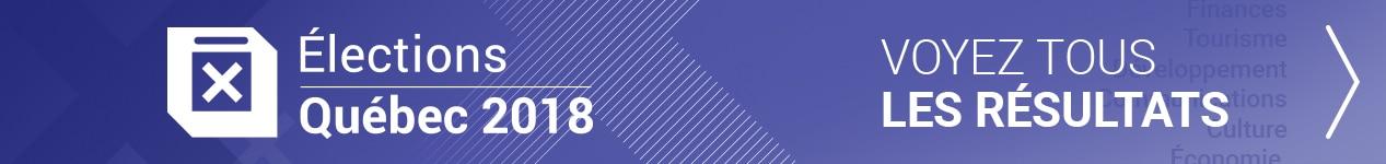 Notre dossier sur les élections provinciales 2018 au Québec