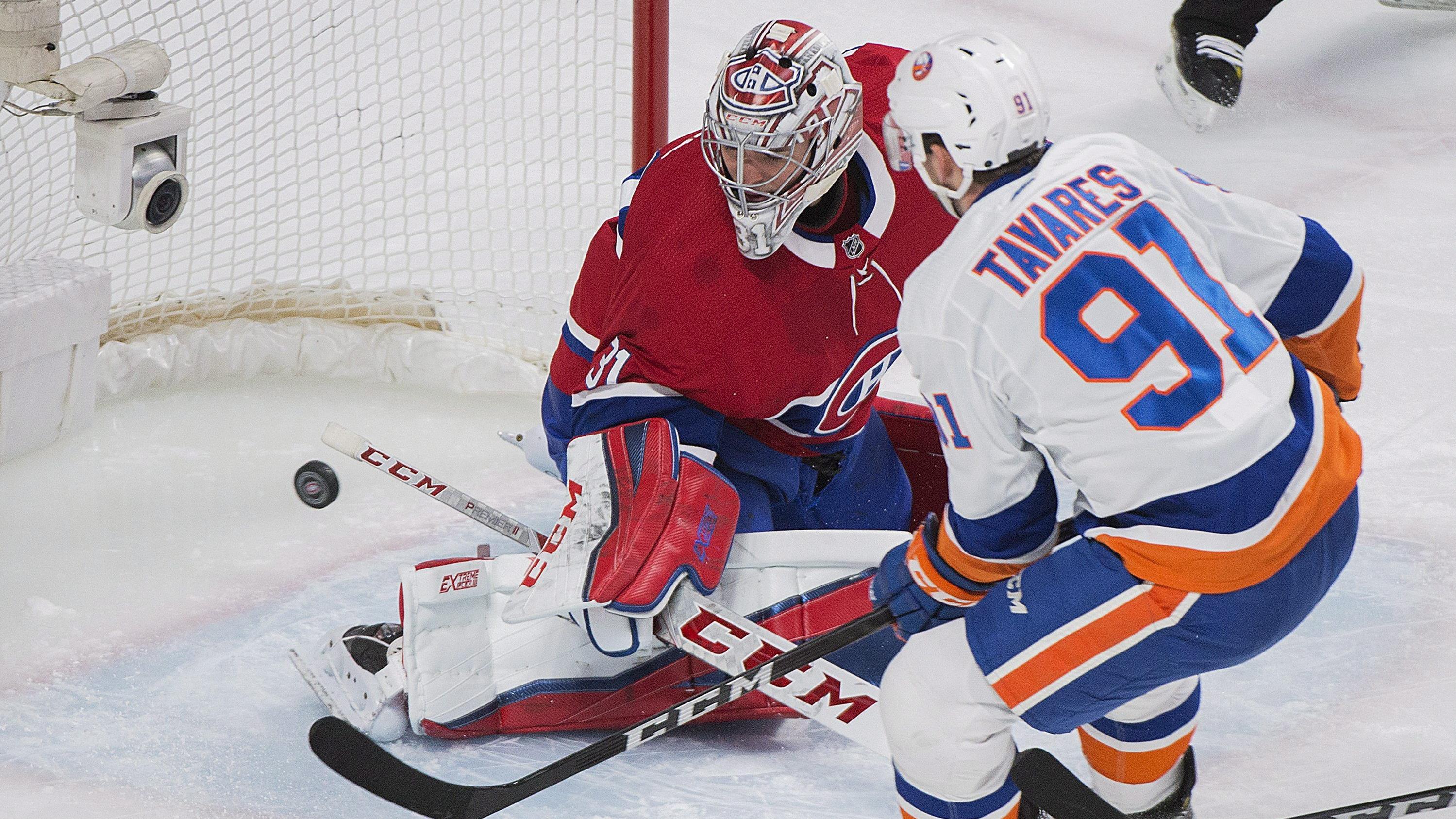 Le Canadien s'incline en prolongation devant les Islanders