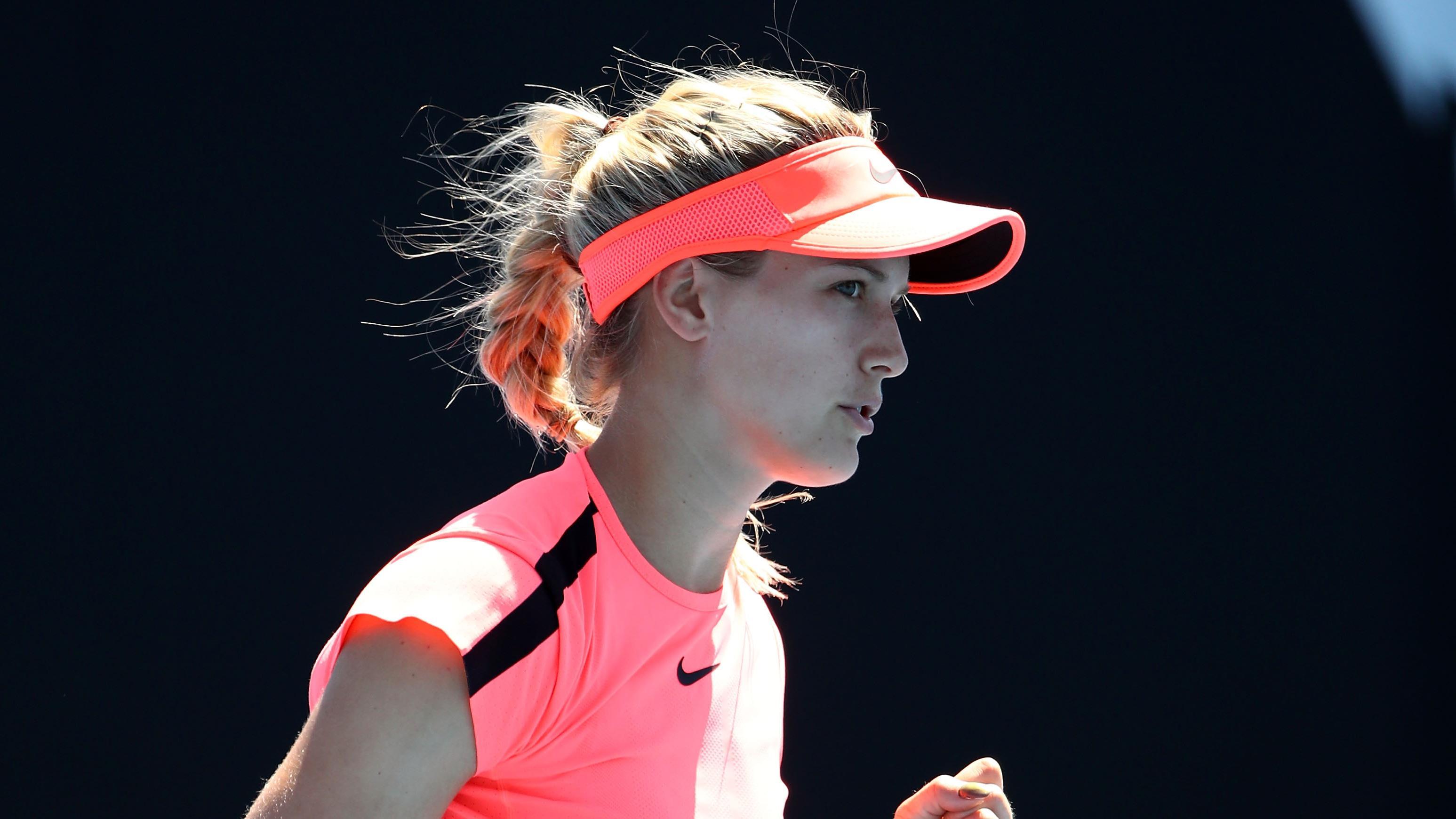 Bouchard victorieuse au premier tour à Melbourne, Sharapova réussit son retour