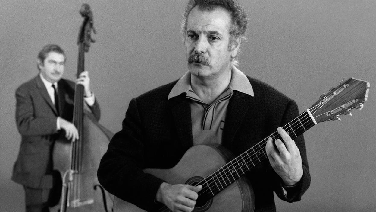 Discussion sur Georges Brassens, «le Bob Dylan de la francophonie»