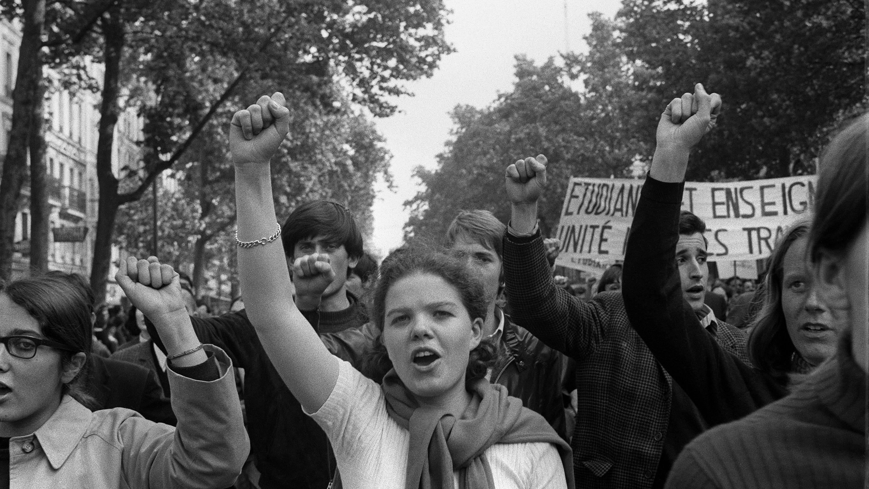 50 ans plus tard, que reste-t-il des contestations de Mai 68?