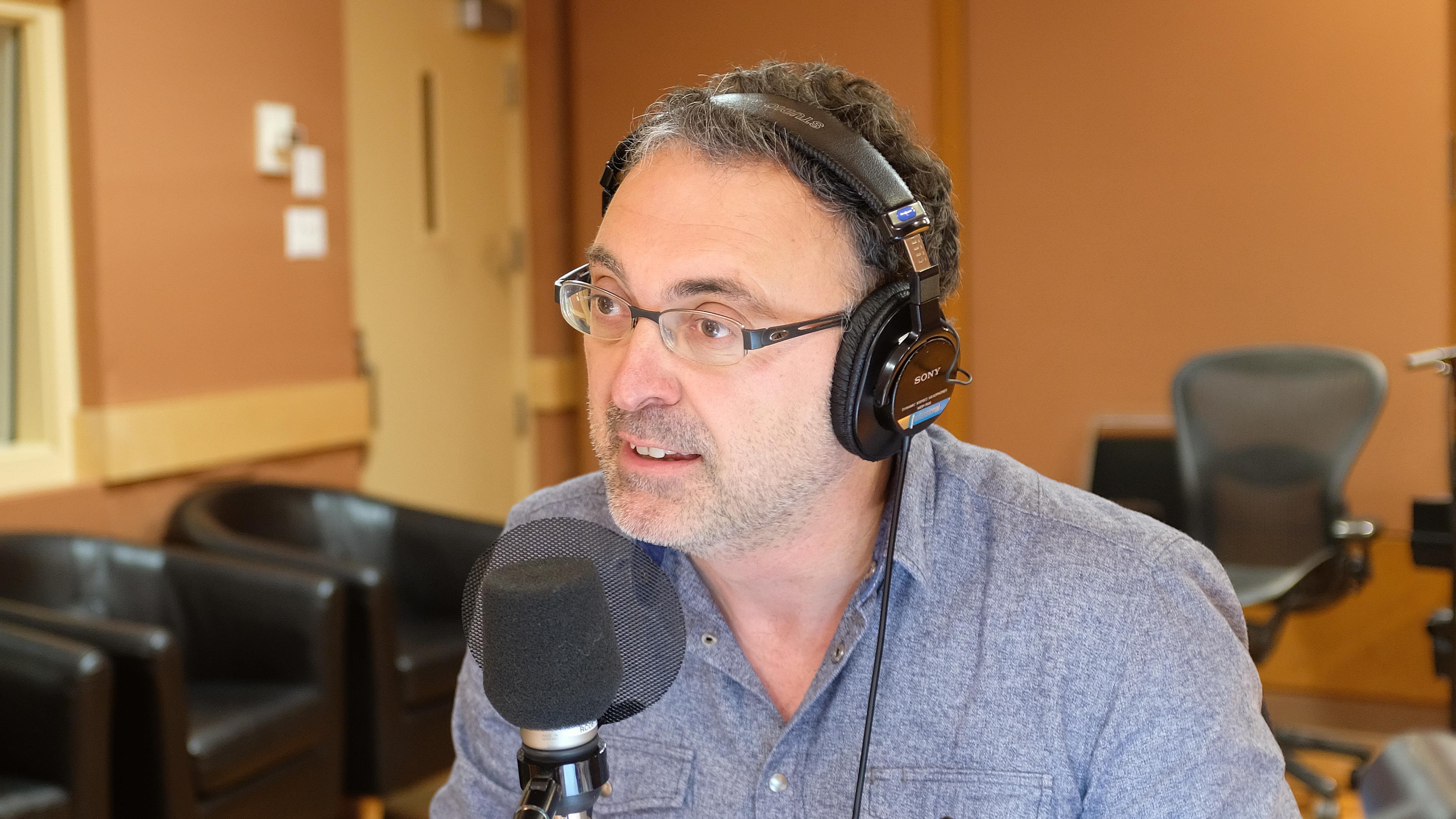 Le journaliste sportif Jean-François Poirier en remplacement de Guy Bois en ce samedi 15 juin