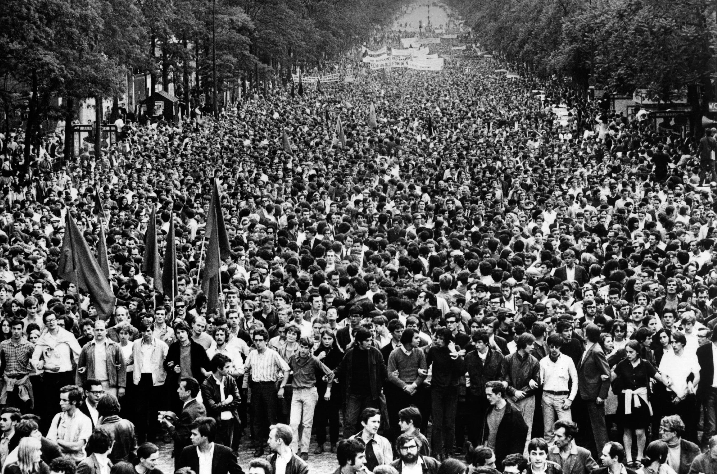 La grande mobilisation sociale de Mai 68 en France | Aujourd'hui l ...
