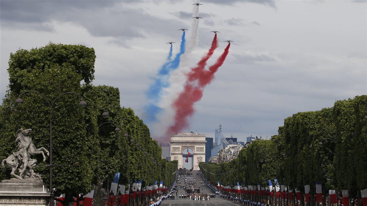 Jour de fête nationale en France