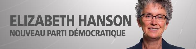 Liz Hanson, chef du NPD du Yukon