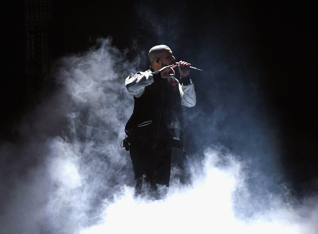 Drake performs onstage in Las Vegas, Nev., 2016.