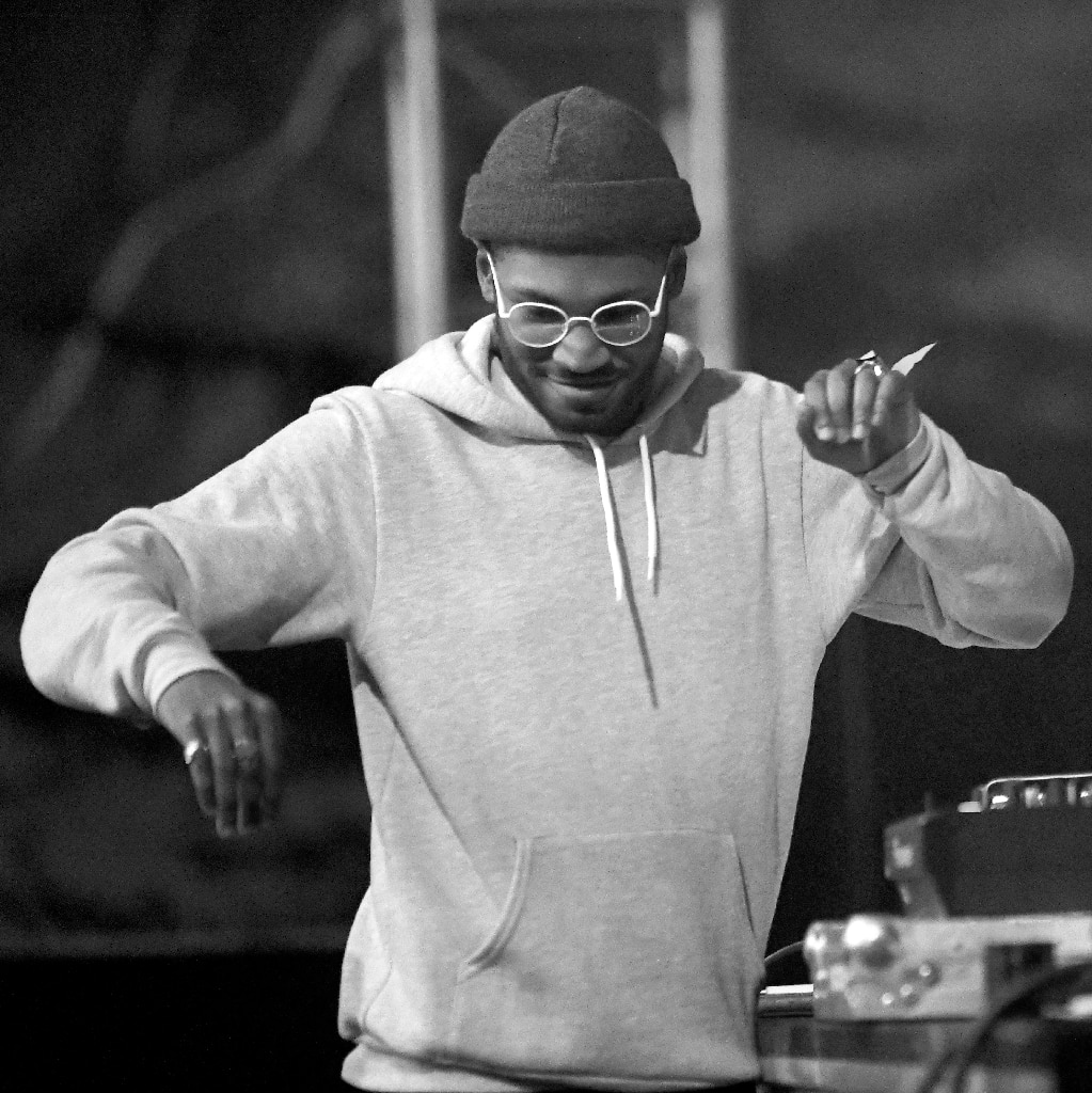 Kaytranada performs at Tyler, the Creator's 5th Annual Camp Flog Gnaw Carnival in Los Angeles, Calif., 2016.