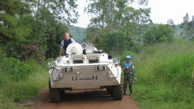 Bill Wiley au Rwanda