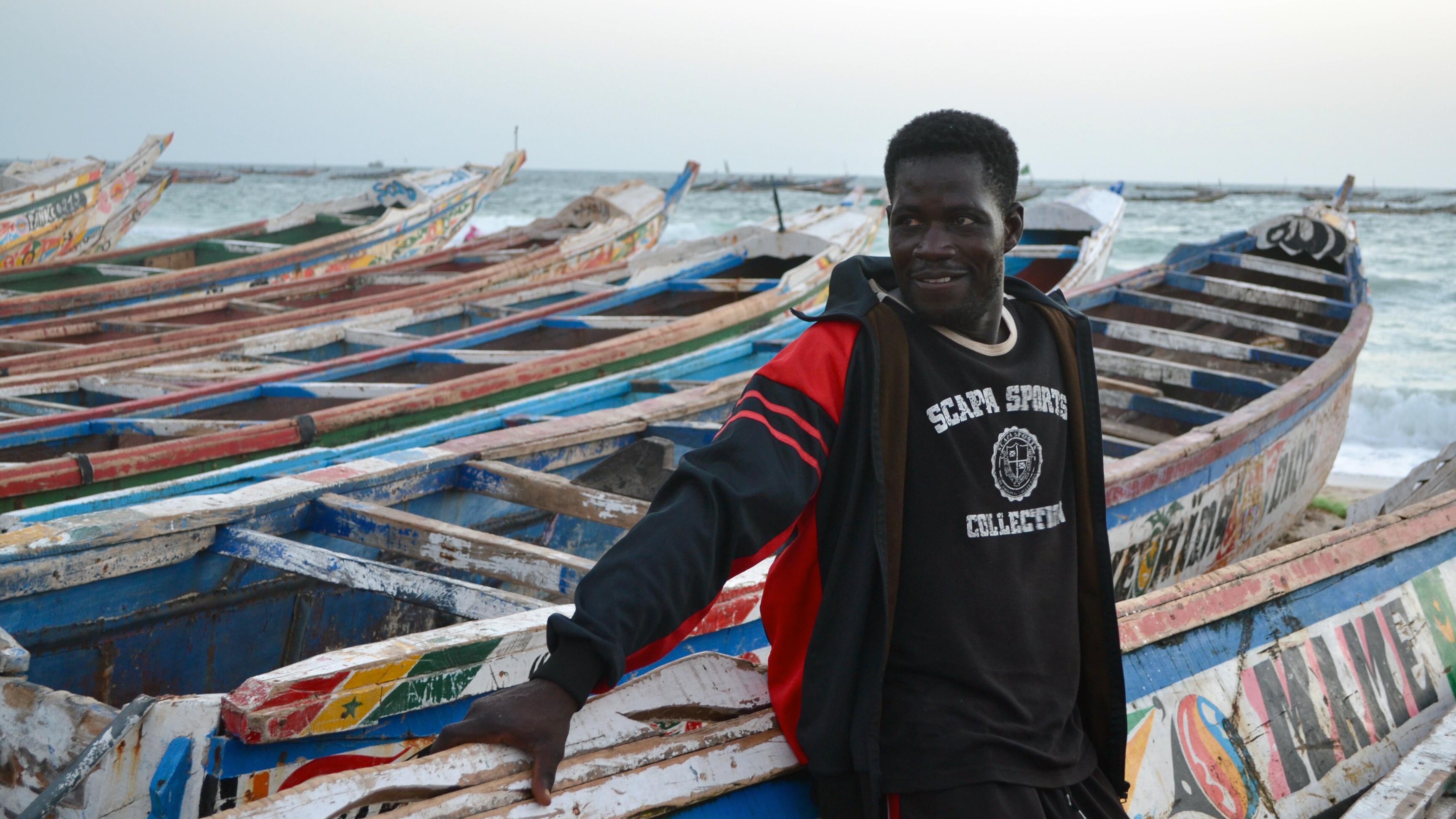 Omar Ould Ali, 33 ans, lui aussi pêcheur