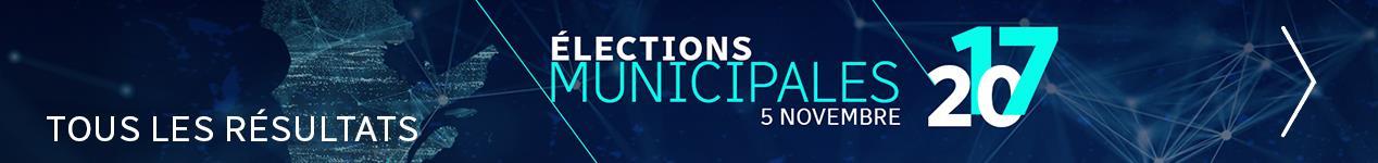 Les résultats des élections municipales 2017 au Québec