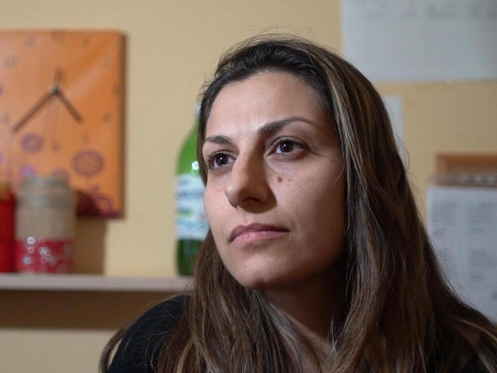 La coordonnatrice du centre d'accueil à Mineo en Sicile, Mariella Simili