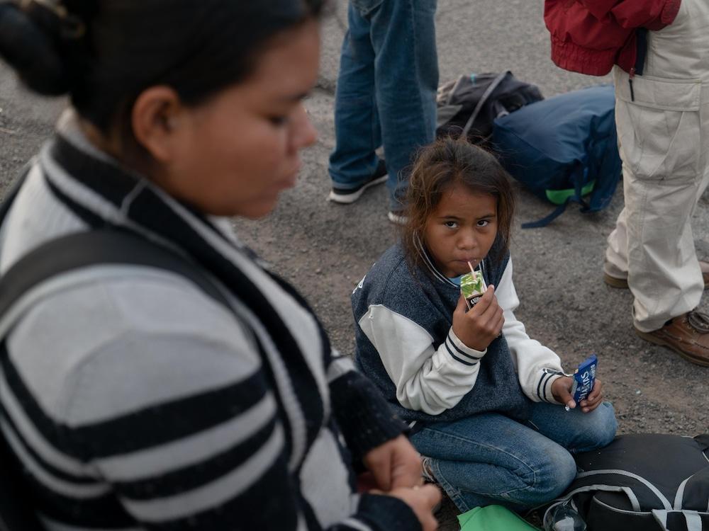 Plus de 2000 migrants sont arrivés à la frontière américaine — Mexique
