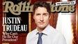 Justin Trudeau en une du Rolling Stone