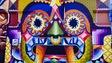 L'artiste mexicain SENKOE a peint cette murale sur une façade du bâtiment qui abrite La Bikery, à Moncton.