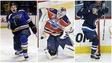 Vladimir Tarasenko des Blues, Cam Talbot des Oilers et Nikolaj Ehlers des Jets sont tous d'anciens participant du Défi mondial de hockey Junior A