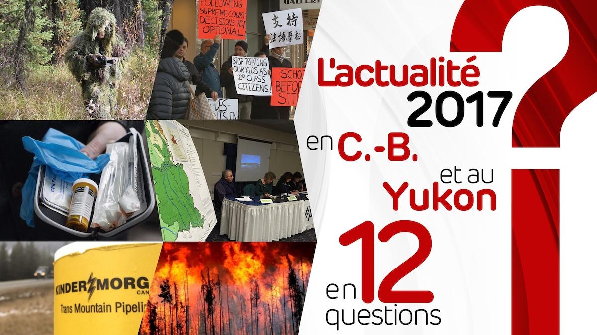 L'actualité 2017 en Colombie-Britannique et au Yukon