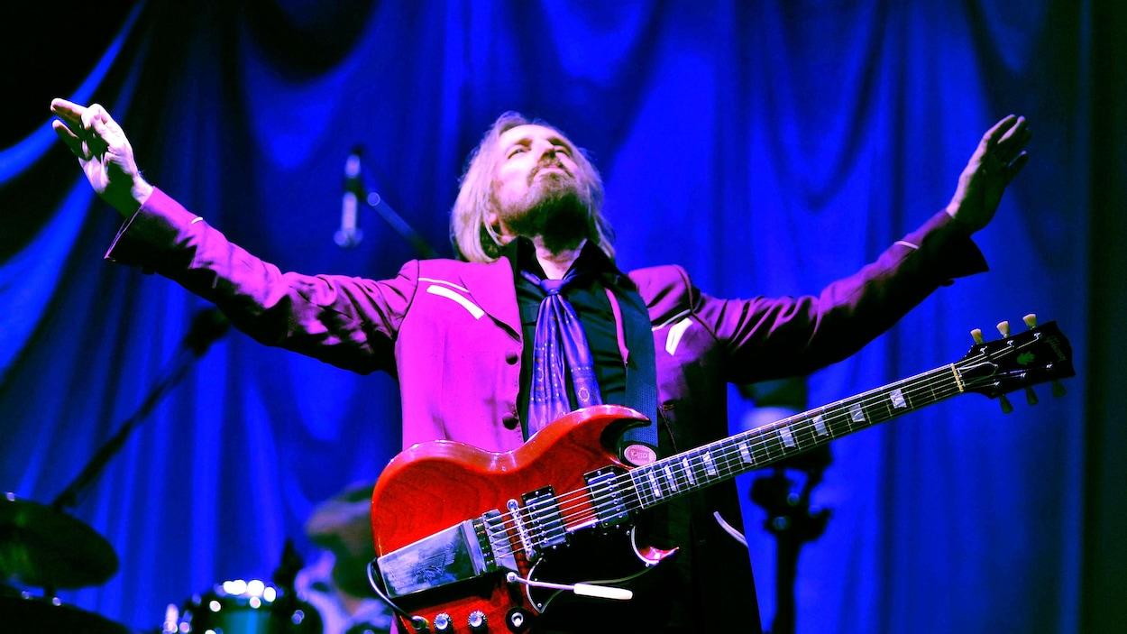 Tom Petty sur scène