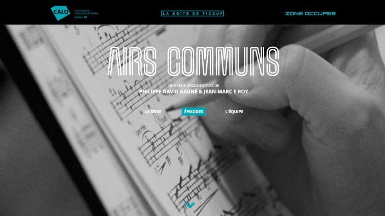 Airs Communs, de Jean-Marc E. Roy et Philippe David Gagné