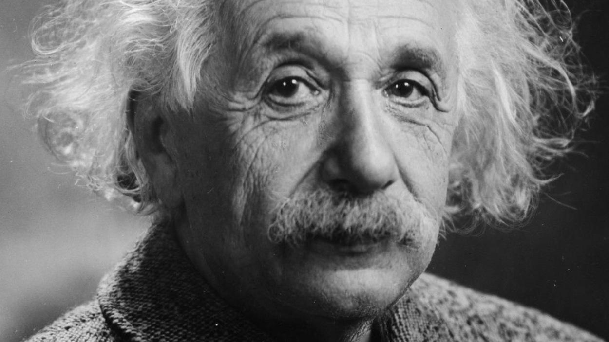 Photo d'Albert Einstein