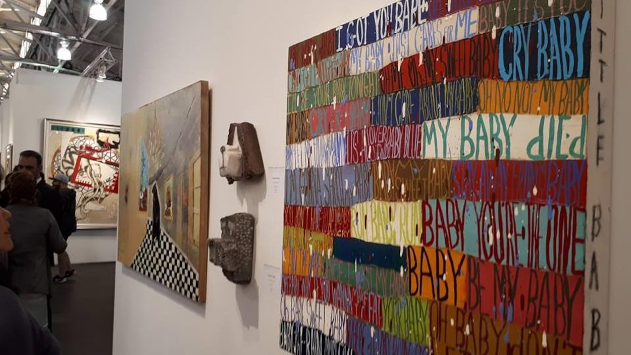 Oeuvres présentes au Art Market de San Francisco