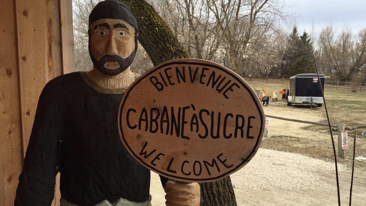 Cabane à sucre de Saint-Pierre-Jolys, au Manitoba