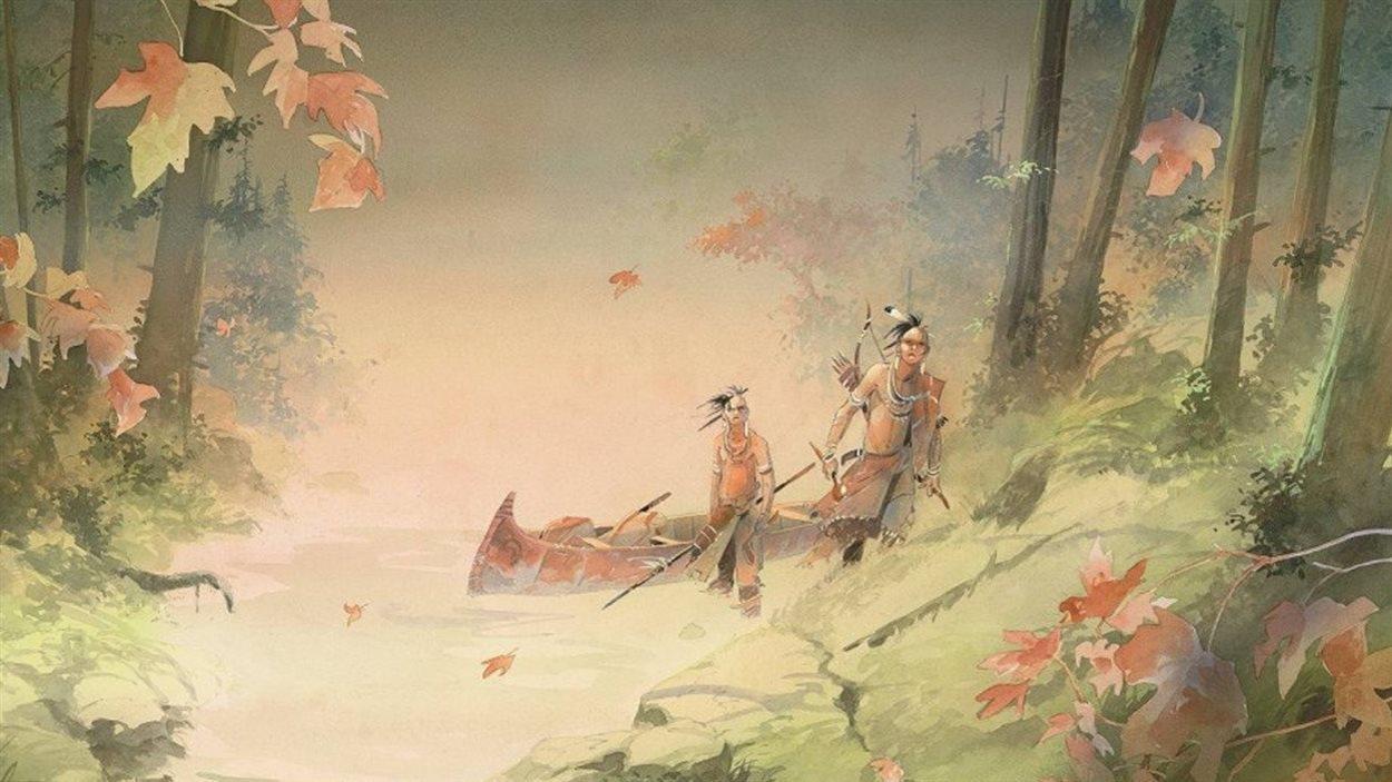 Iroquois de Patrick Prugne