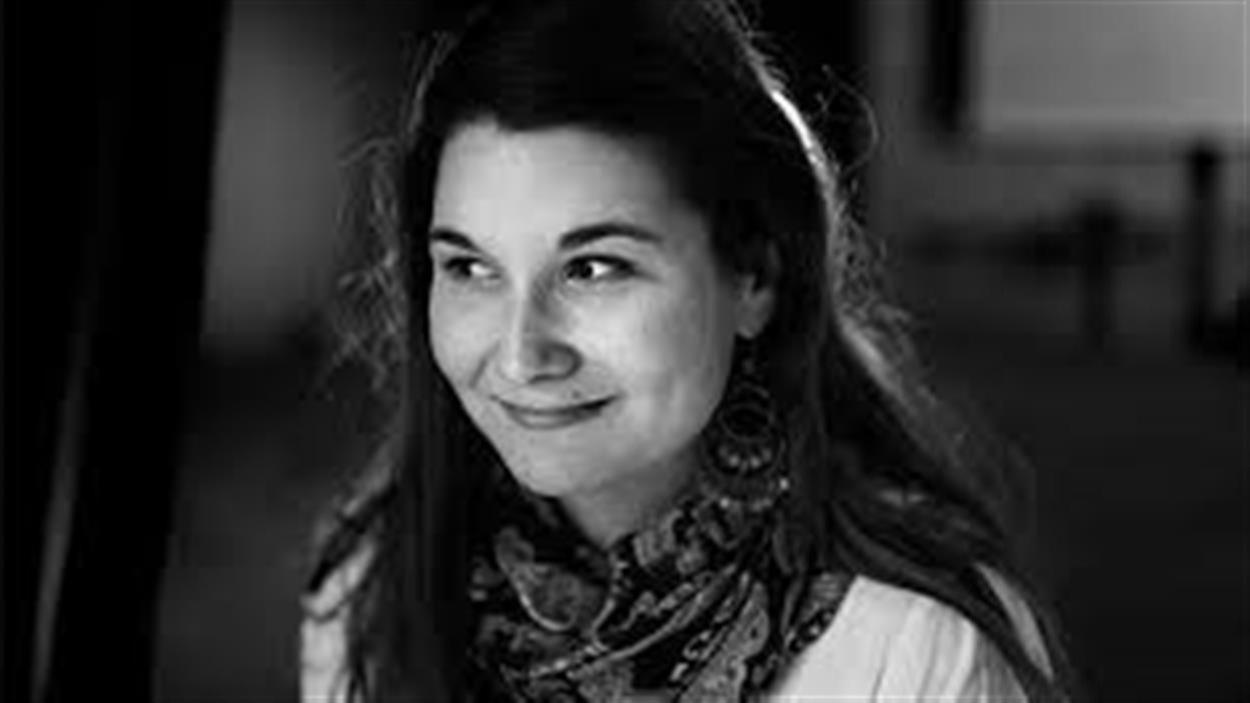 L'auteure et comédienne Erika Soucy