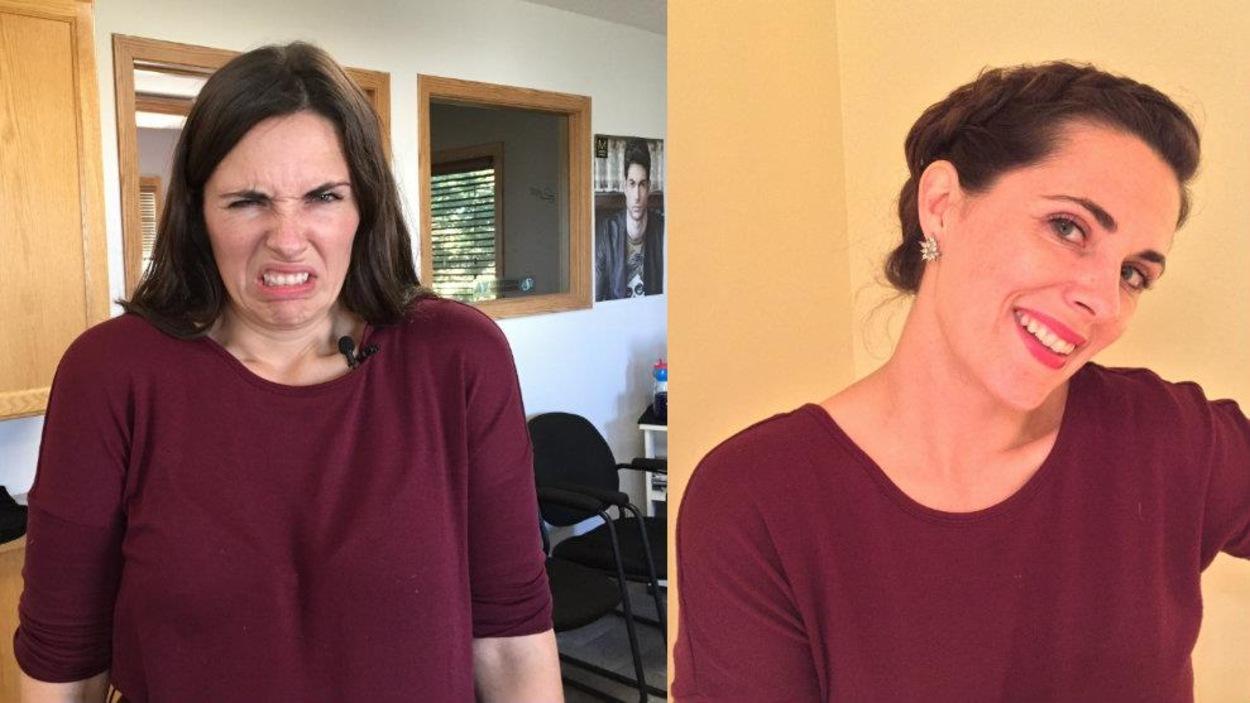 Avant et après le rendez-vous de Nicole Lavergne-Smith à Debden