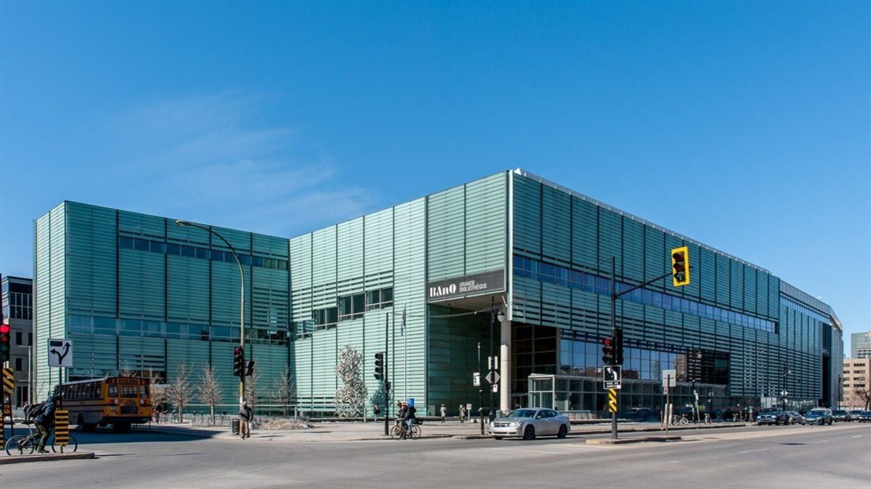 La Grande Bibliothèque de Montréal