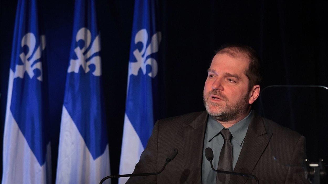 Le député de Rimouski, Harold Lebel