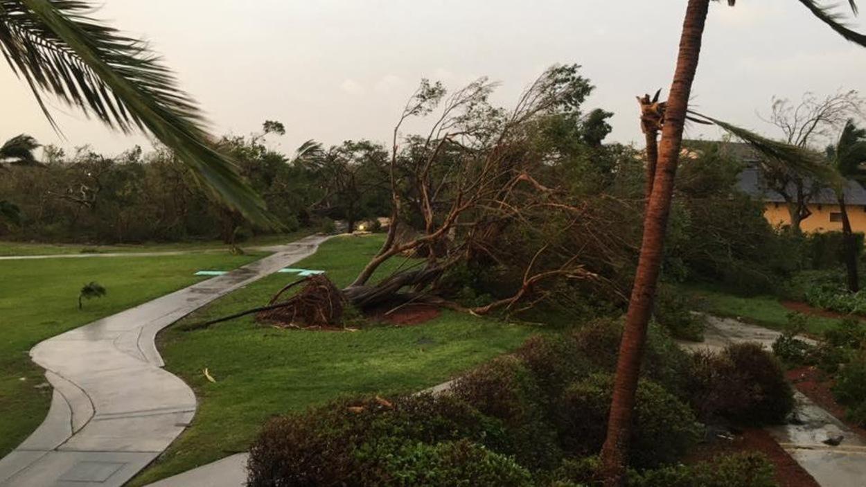 Les îles Turks et Caicos ont subi durement le passage de l'ouragan Irma.