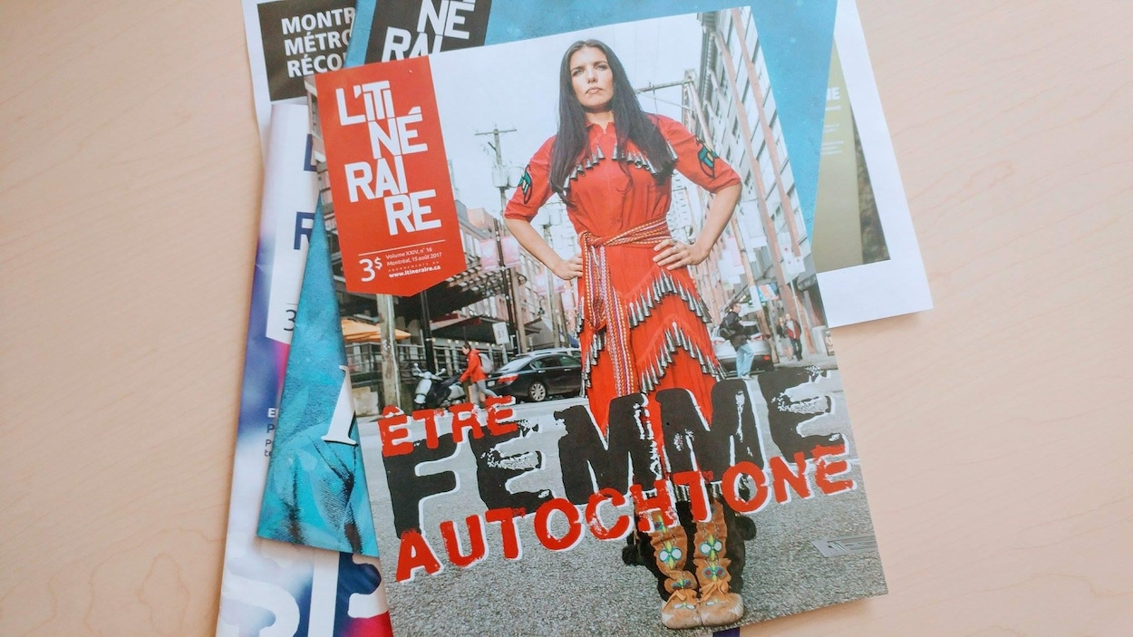 L'itinéraire lance un numéro consacré aux femmes autochtones pour le mois d'août.