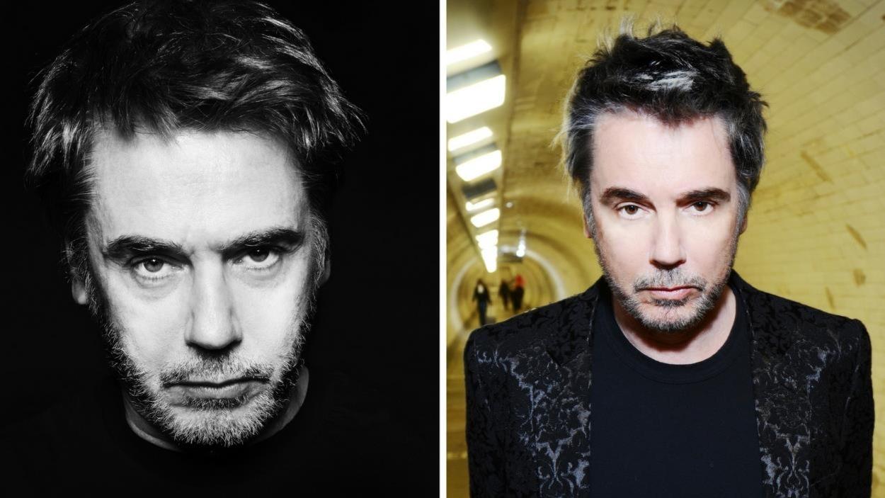 Deux photos de l'artiste