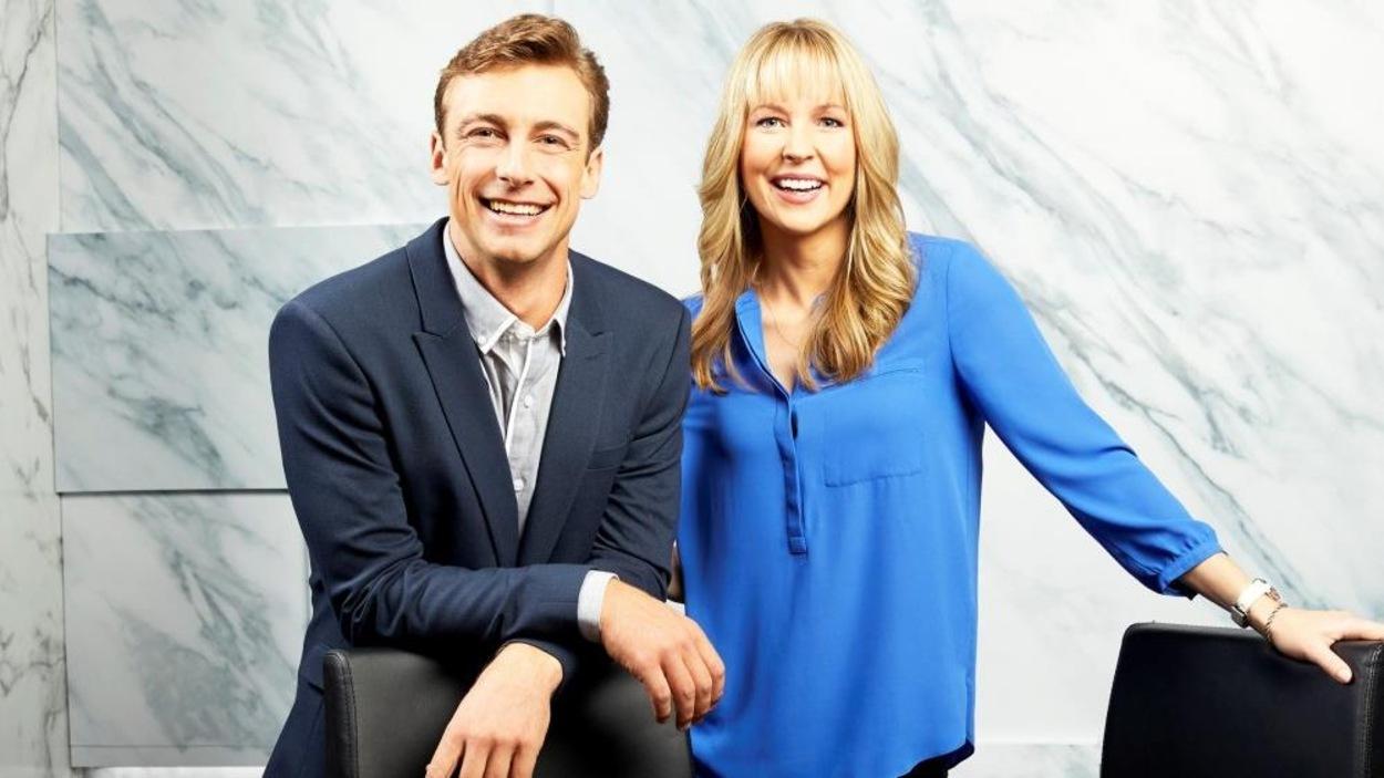 Craig McMorris et Kelly Vanderbeek.