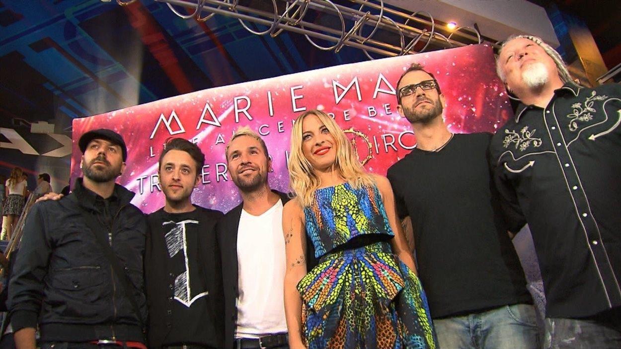 Première du film «Marie-Mai live au Centre Bell» en juillet 2014