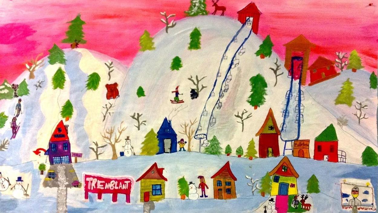 Murale des élèves de Val-David