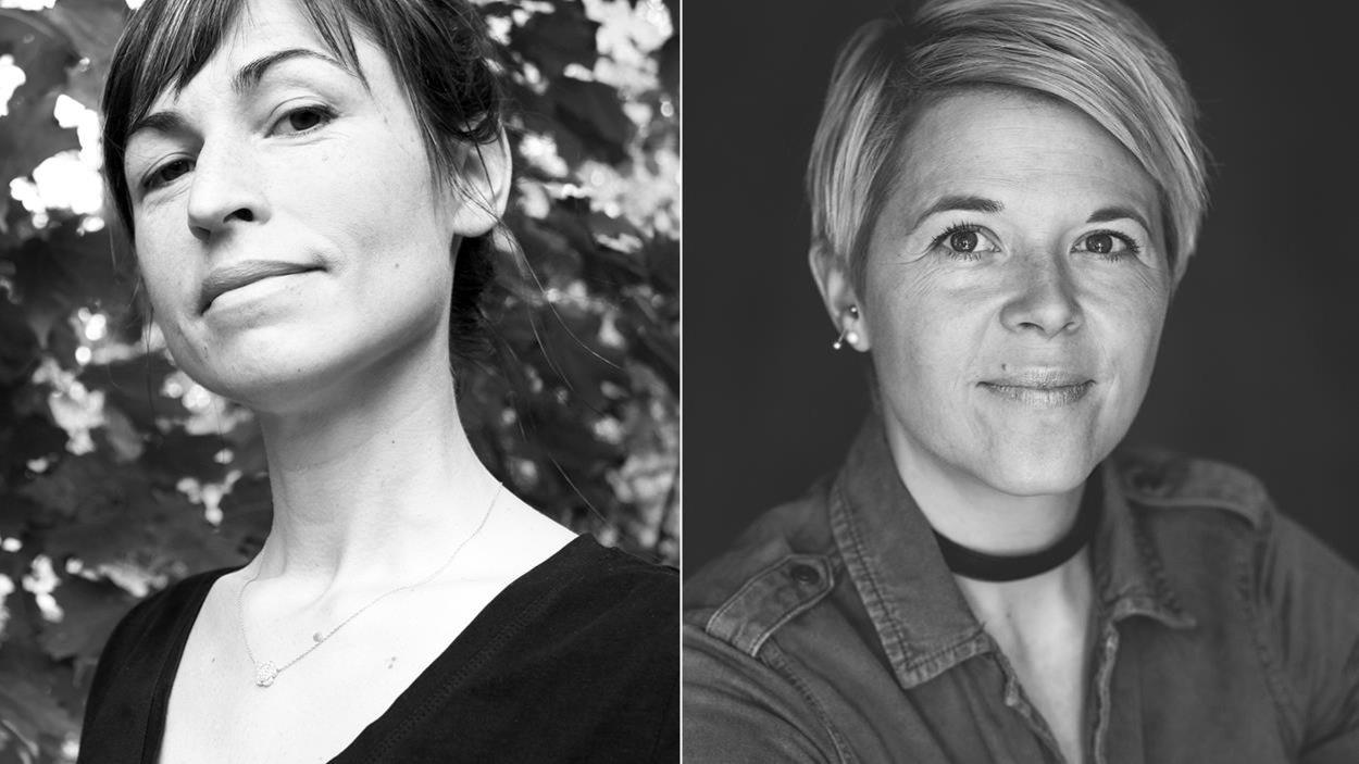 Les auteures Nathalie Lagacé et Sophie Fortier