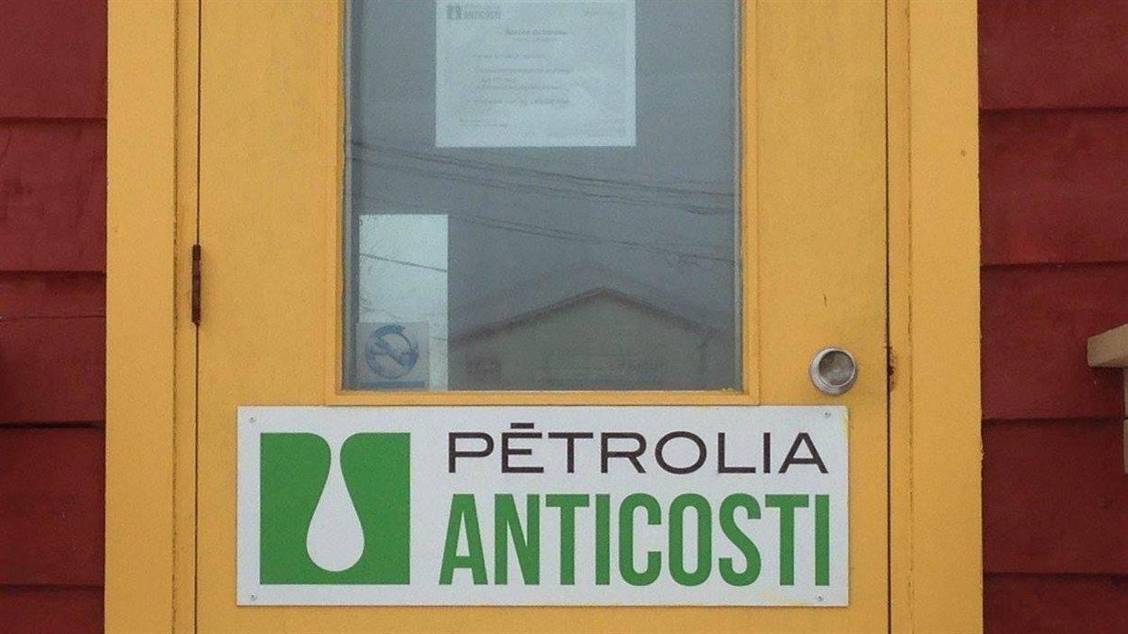 Une partie des installations de Pétrolia à Anticosti.
