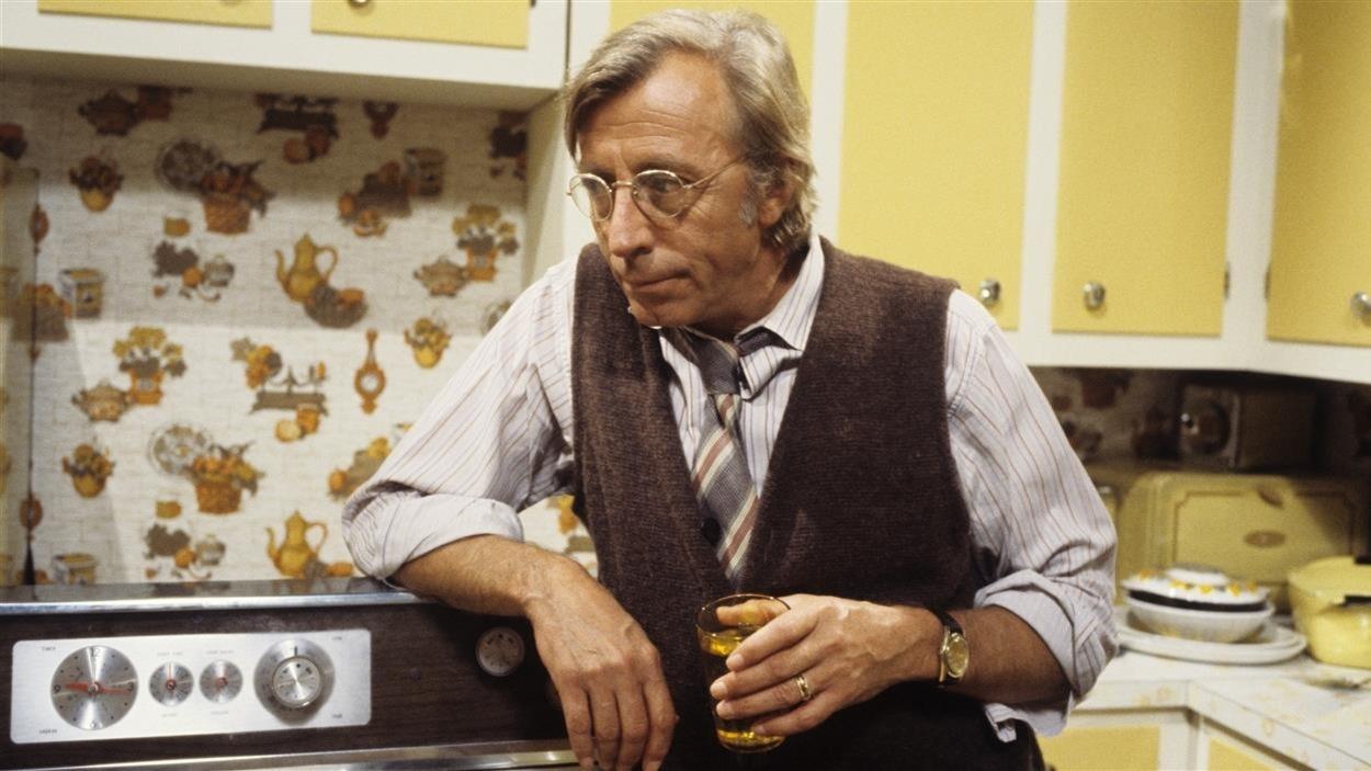 Le personnage de Charles Beauchemin (Paul Hébert), dans «Race de monde» télédiffusé en 1978.