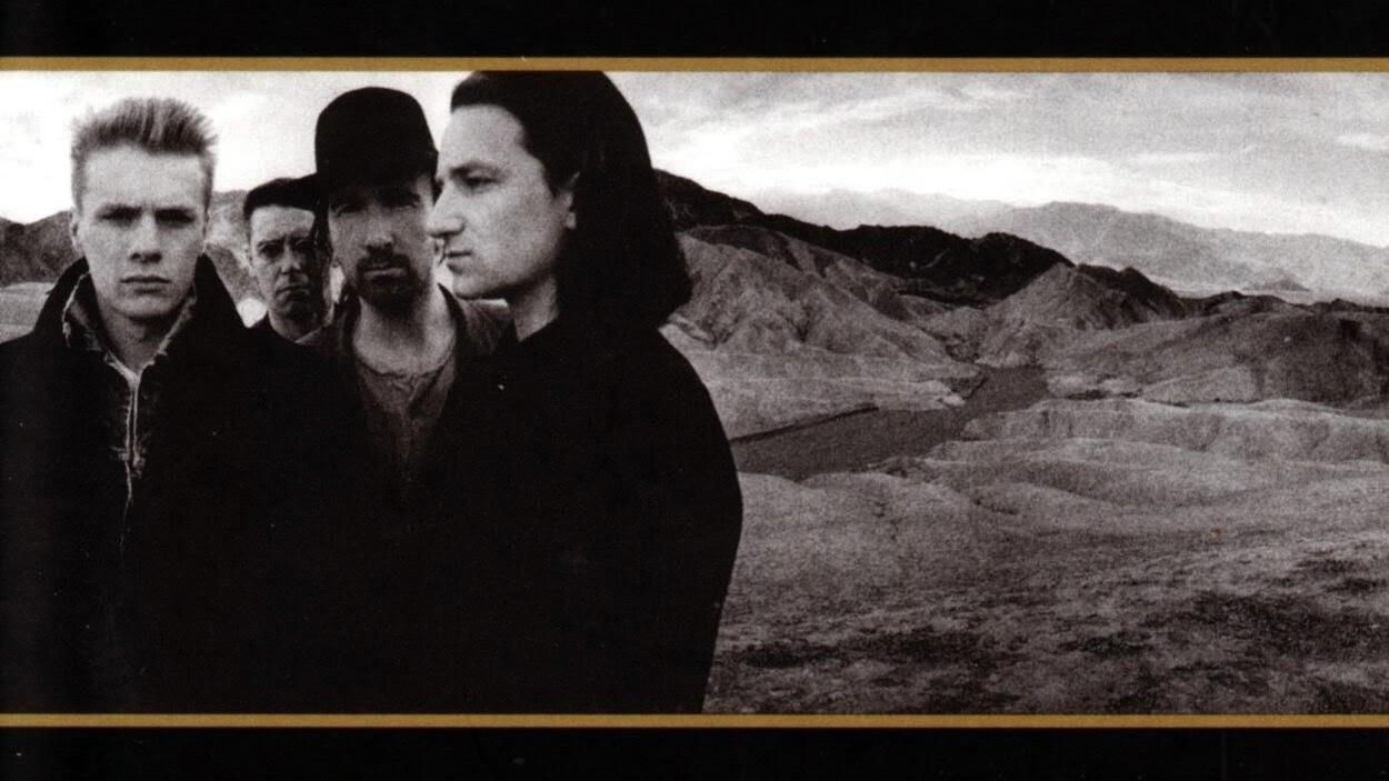 Détail de l'album «The Joshua Tree», du groupe U2