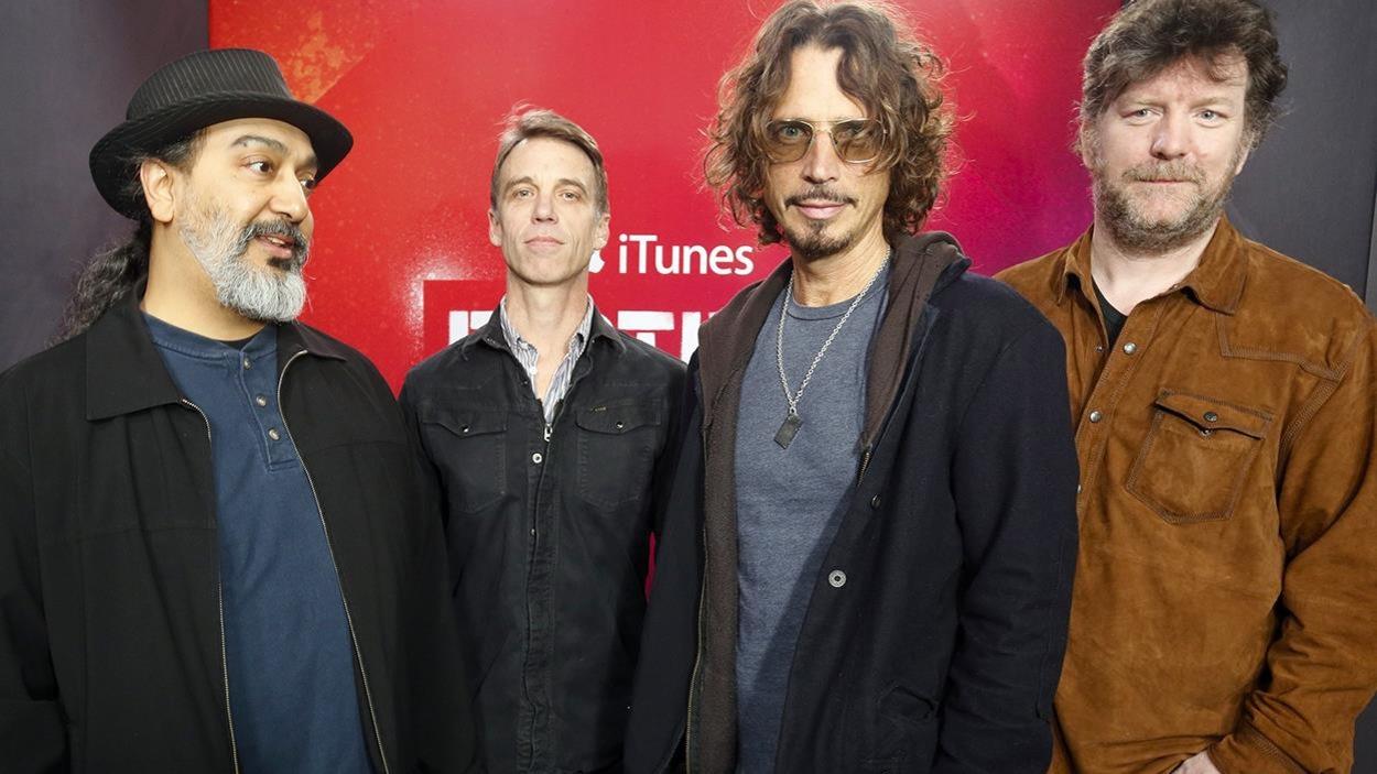 Kim Thayil, Matt Cameron, Chris Cornell et Ben Shepherd de Soundgarden en 2014
