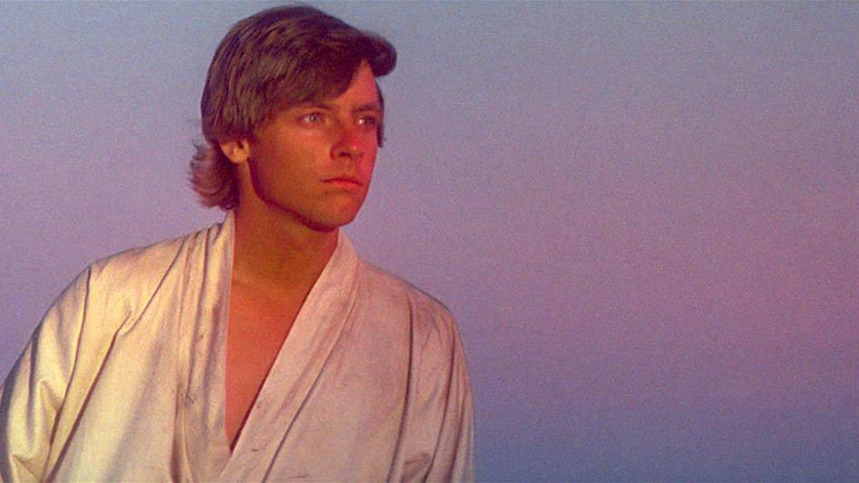 Luke Skywalker (Mark Hamill) dans «Star Wars : Épisode IV - Un nouvel espoir»